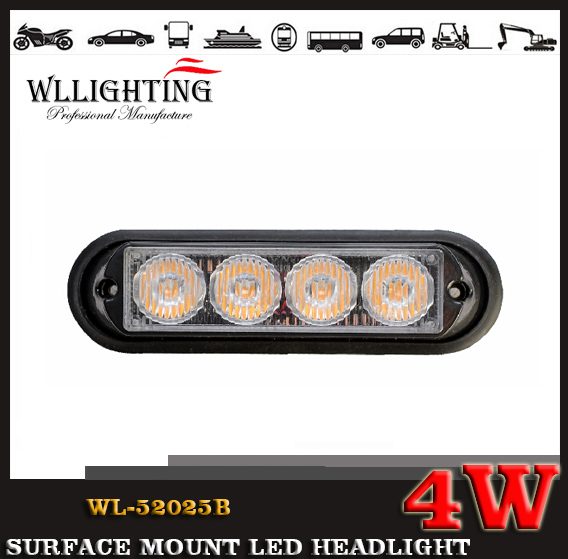 4 TIR LED Grille and Surface Mount Light