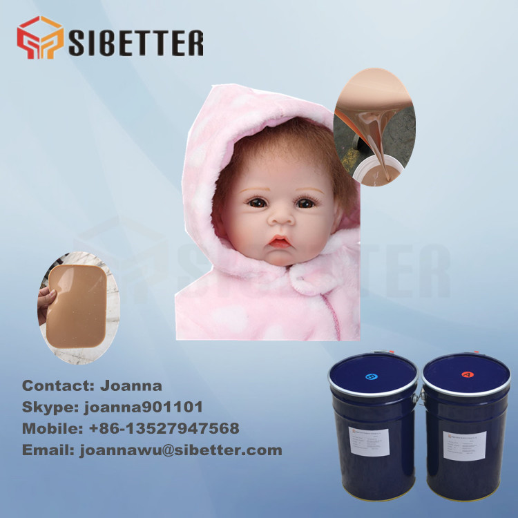 FDA Soft Liquid Silicon Rubber for Baby Doll, Sex Doll