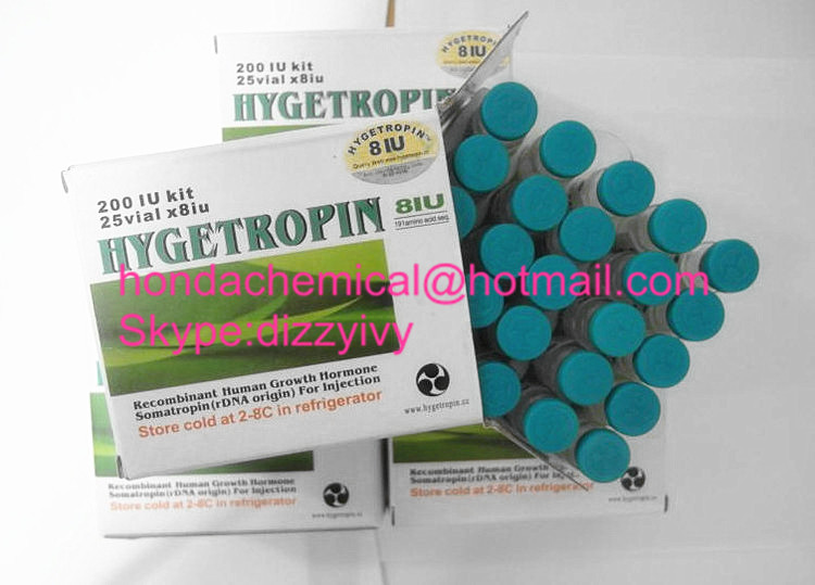 99.9% Purity hygetropin HGH hygetropin/kigtropin/jintropin for Fat Loss and Increase Muscle