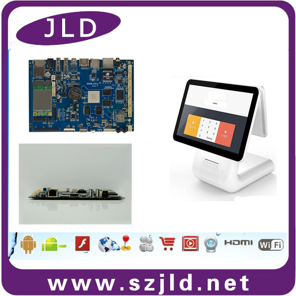 Factory new arrival android board rockchip rk3288 support dual screen 4k resolution