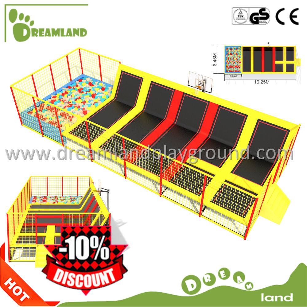 CE Certificate gymnastics commercial trampolines for sale,professional trampoline