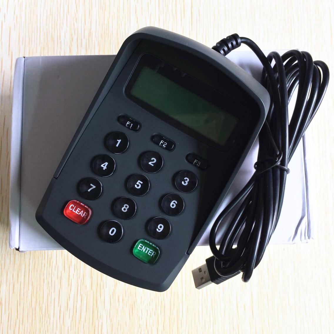 USB Emulator RS232 Interface 15 Keys with LCD Pin Pad /Password Keyboard YD531
