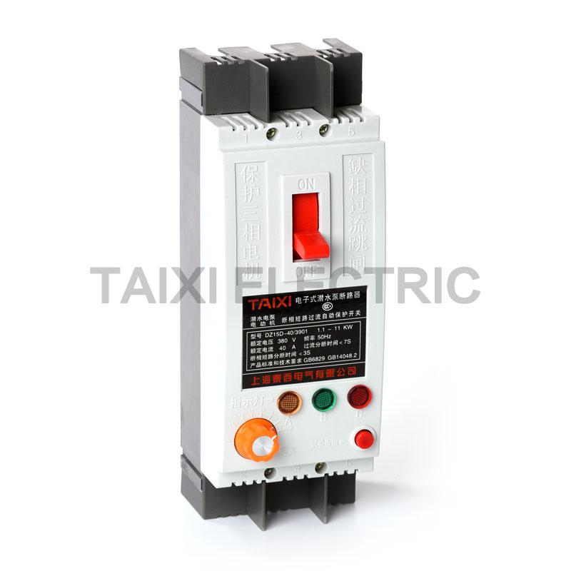 DZ15LD electric motor circuit breaker mccb