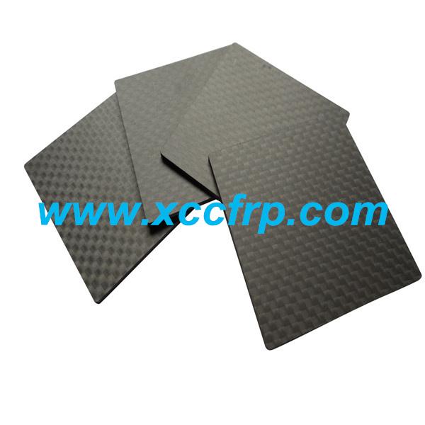 High quality 3K Twill matte Size 400500mm Prepreg carbon fiber plate 8mm