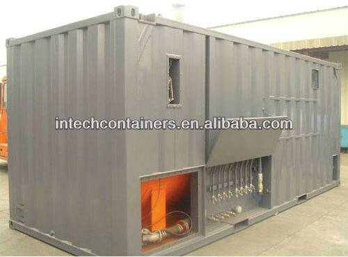 Auxiliary fuel tank for generator Bunded container tank Intech