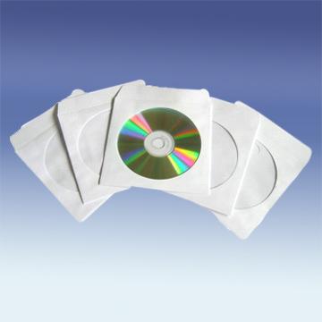 80g white paper CD sleeve - Yue Li Xing Industrial CO. LTD