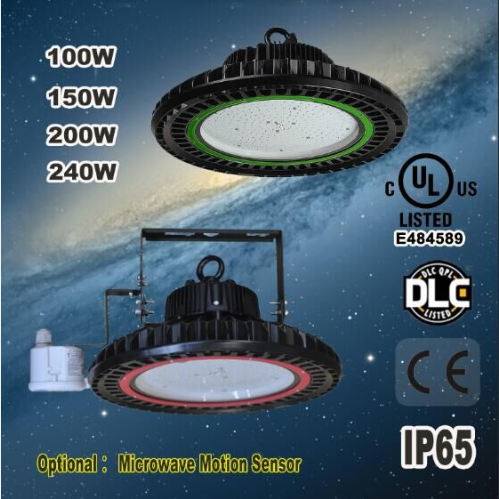UL OSRAM chip and MW driver UFO High Bay Light from Gaopin