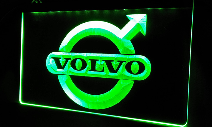 LS208-b Volvo-LED Neon Light Sign