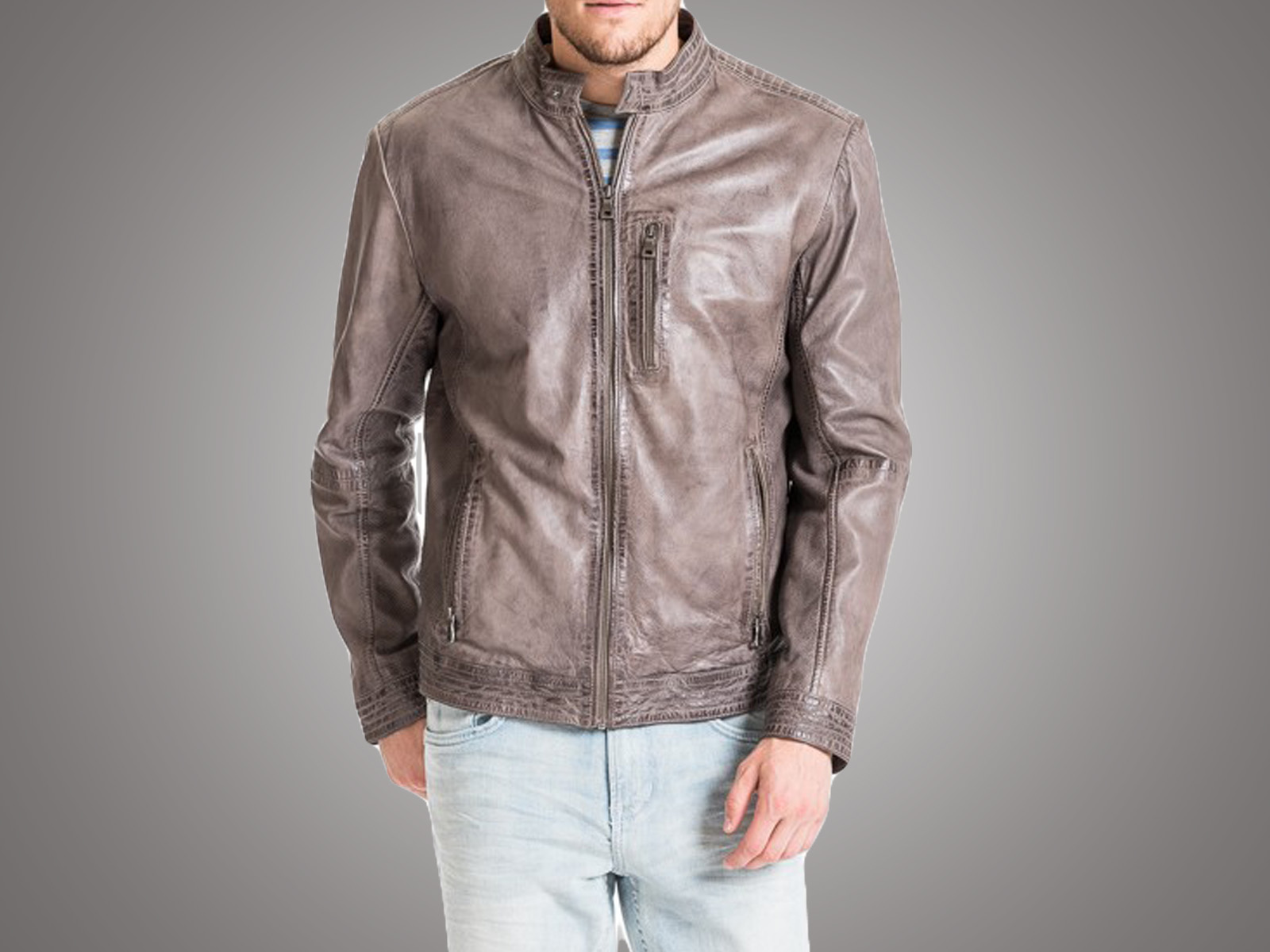 Custom All New Classic Leather Jacket