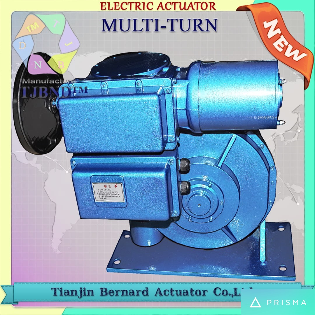 SD Multi-Turn Electric Actuator for Valves
