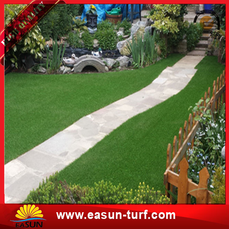 High Density  Artificial synthetic Grass turf carpet Landscaping-Donut