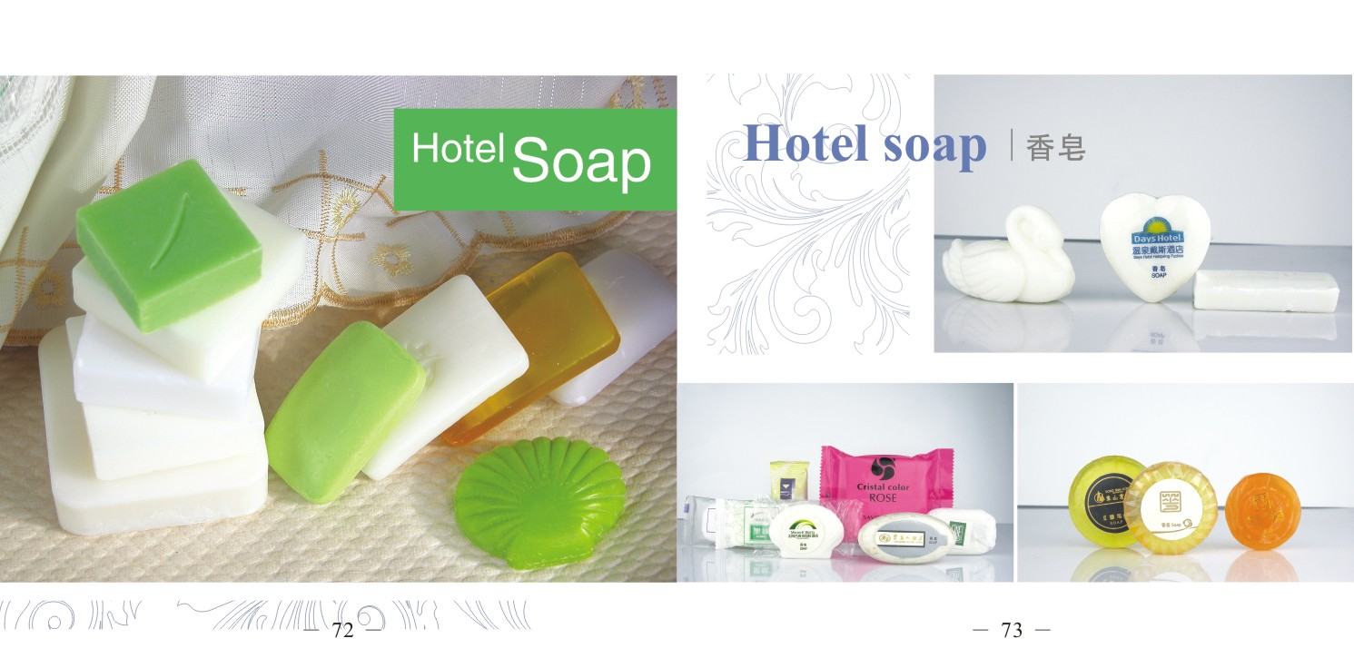 hotel soap hotel products