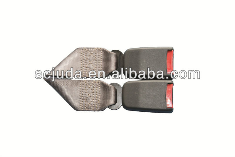 double buckle seat belt portable extender