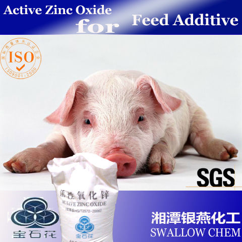 Active Zinc Oxide for feed grade