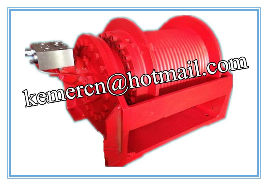 custom built hydraulic winch
