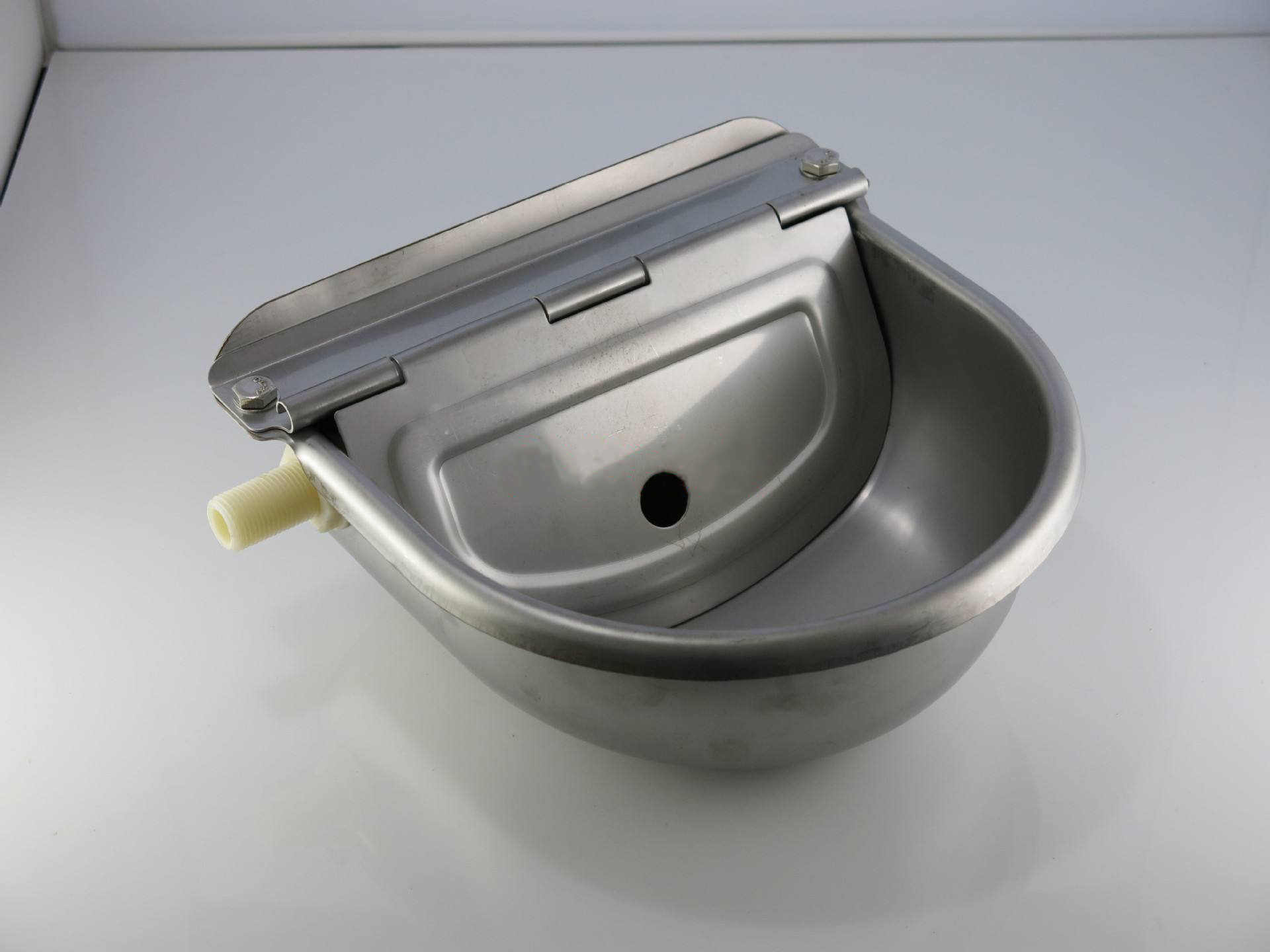 Pig feeder drinking trough automatic stock waterer drinker
