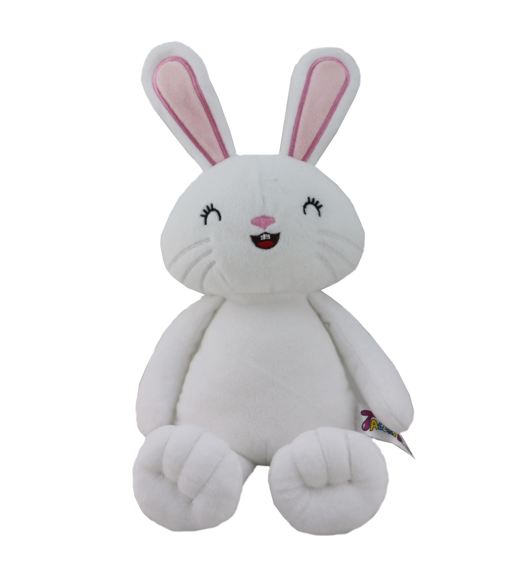 ICTI factory stuffed soft toy plush animal rabbit toy