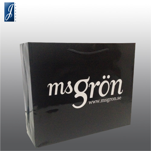 Customized medium promotional bag for msgron