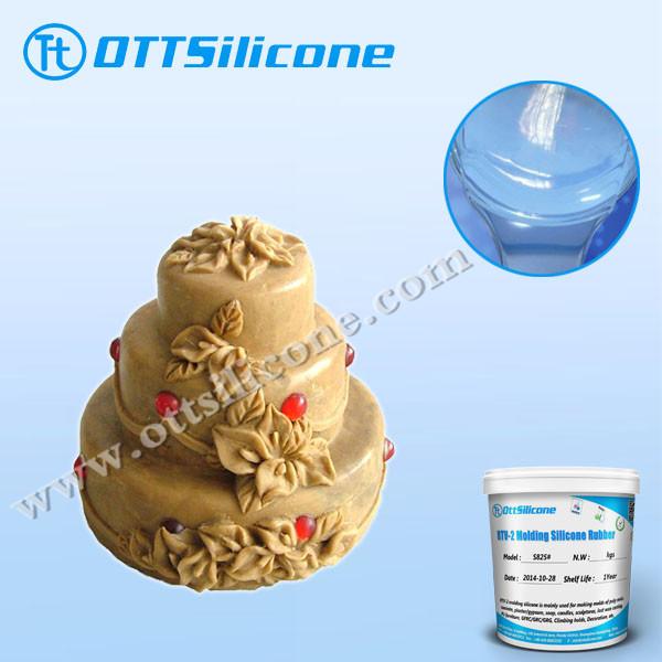 Food grade liquid silicone rubber of RTV2/Cartoon silicone cake mold