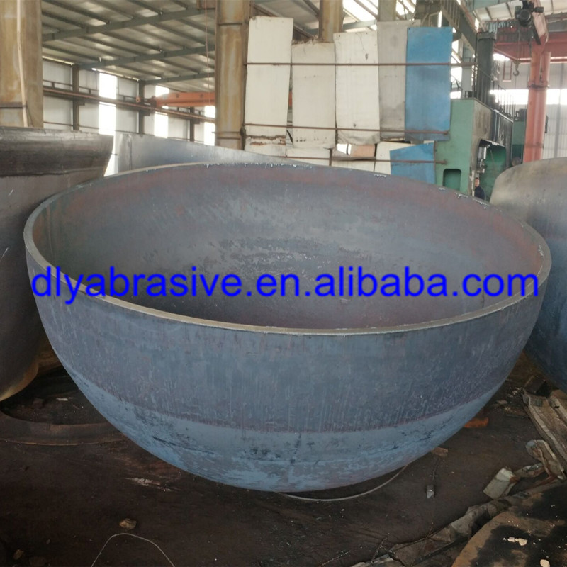 high quality Best price large hemispherical tank heads for fire pits