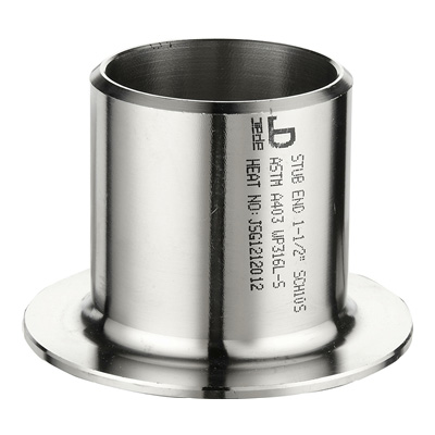 stainless seamless pipe fitting of stub end