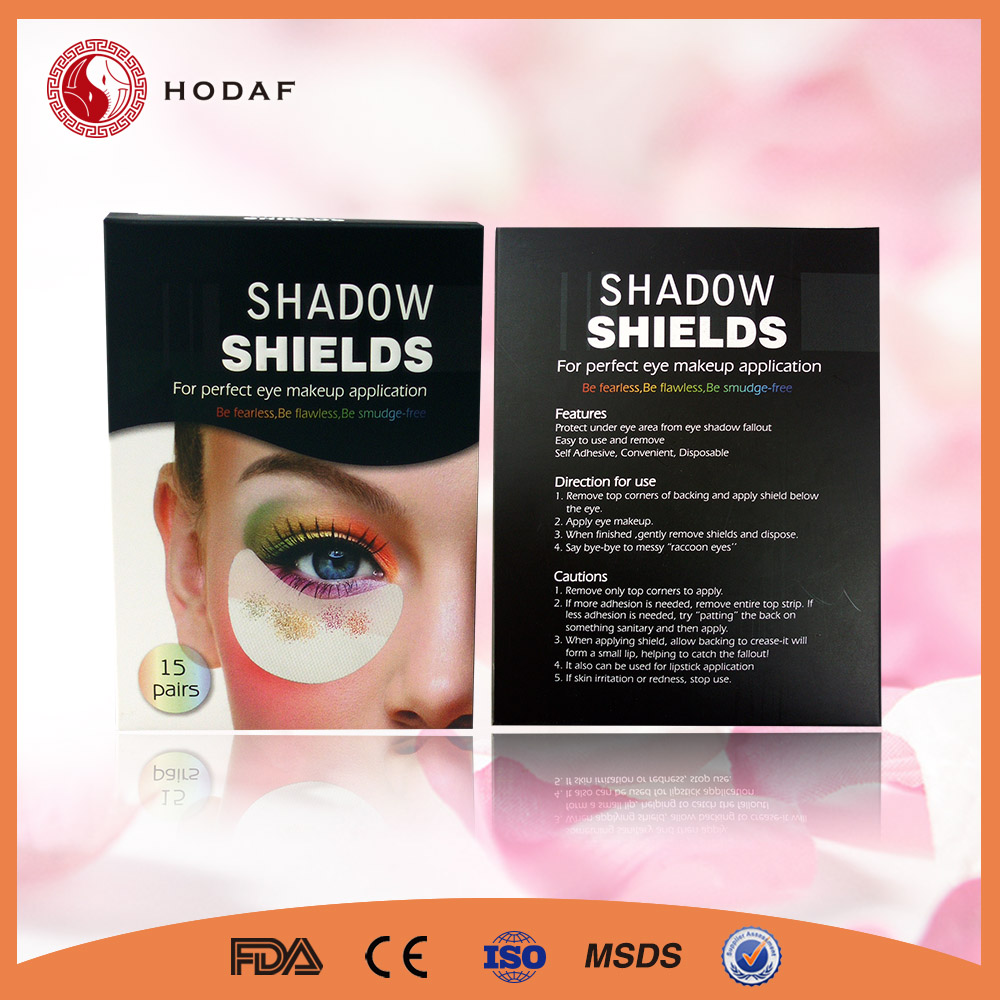 Private Label Round Stickers Adhesive Shadow Makeup