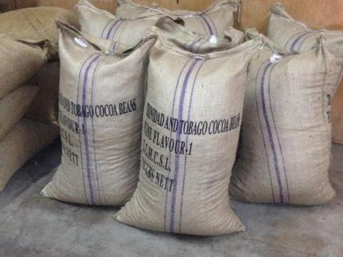 Jute sacking bag suitable for coffee bean packing