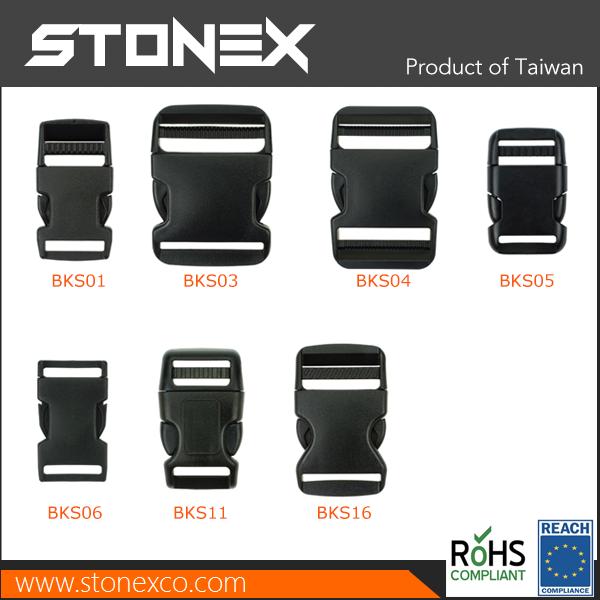 Stonex Plastic Buckles Side Release Buckle for bag backpack breakaway key buckle
