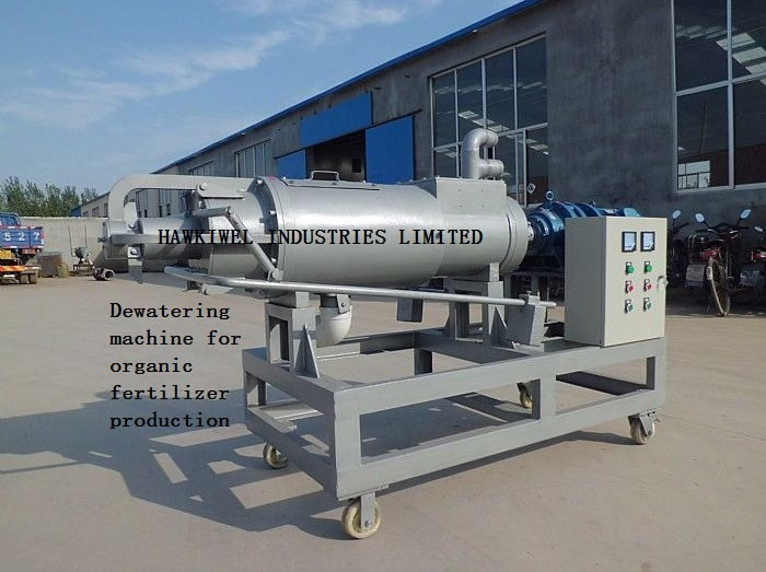 dewatering machine for sludge/animal dung waste