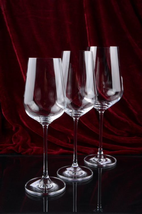 China glass manufacturer wholesale goblets crystal wine glass