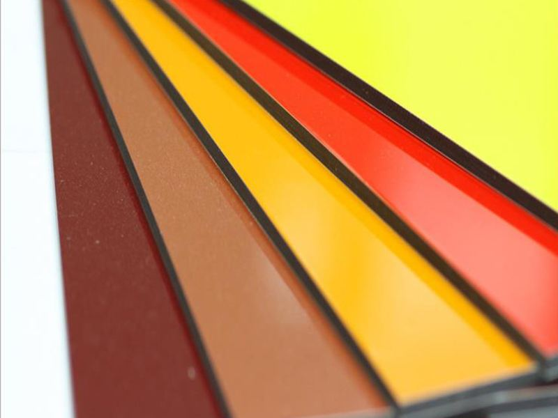 Color Coated Building Curtain Wall Decoration Materials ACP Wall Panels