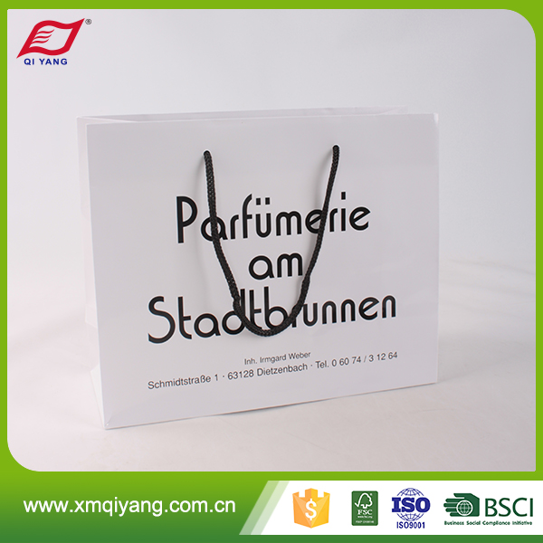Custom print high quality low cost paper bag with logo print