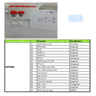 MT-2 10mg/vial for muscle building Cas121063-08-6