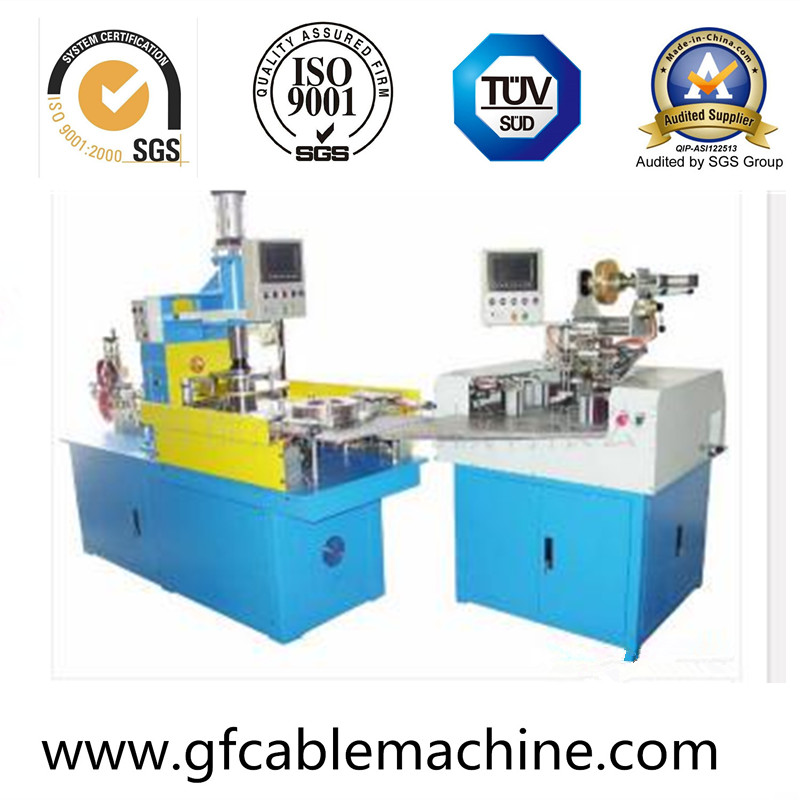 Auto Wire Cable Wrapping Machine Wire Cable Auxiliary Machine