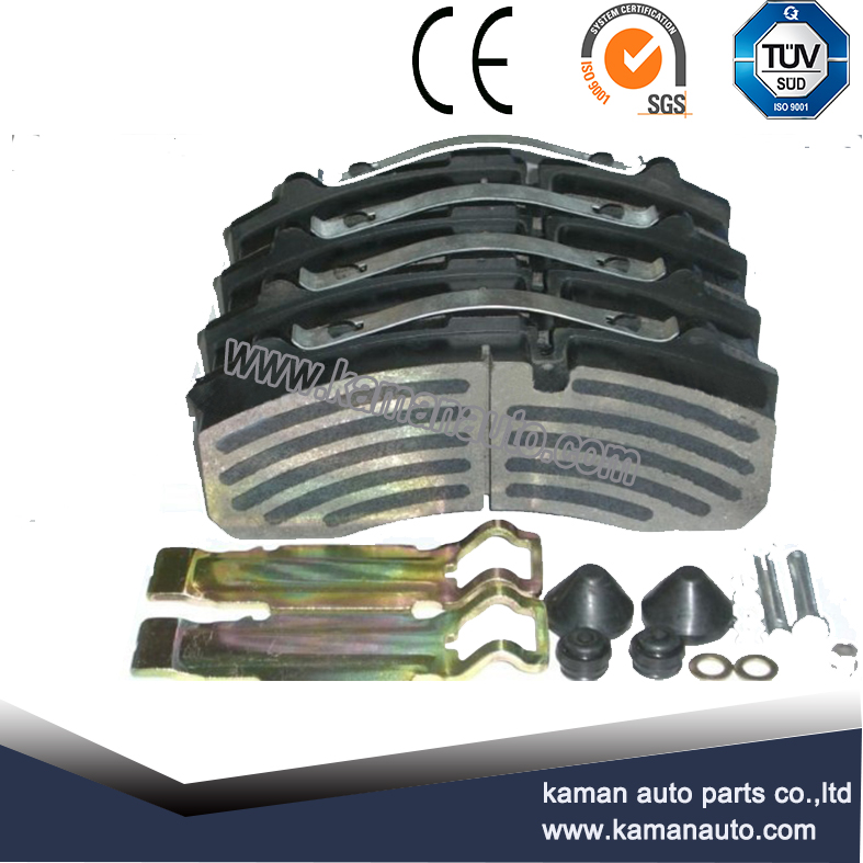 WVA29174 commercial vehicle brake pads set with full kits for Volvo truck parts
