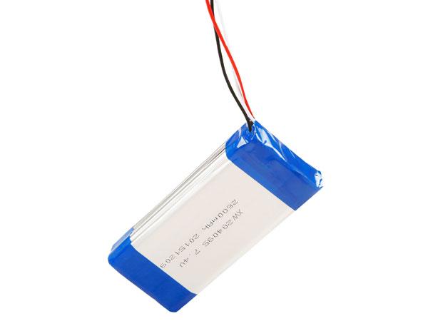 XW 204095-2S 7.4V 2600mAh Li-ion polymer battery
