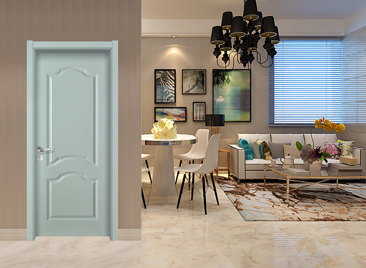 HONMAX European style composite baking varnish color painting interior wood door