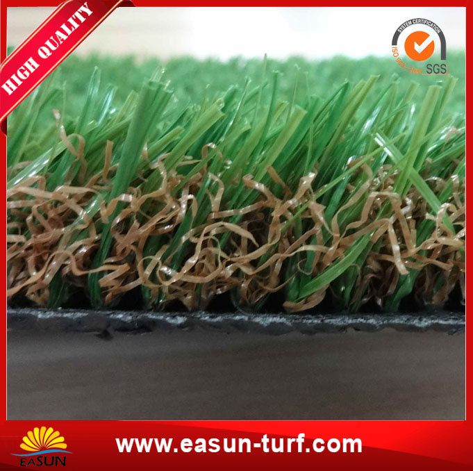Artificial grass and U shape synthetic grass for garden and residental-Mary