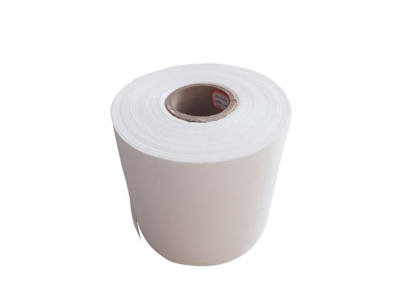 White wood pulp laminated spunlace nonwoven fabric