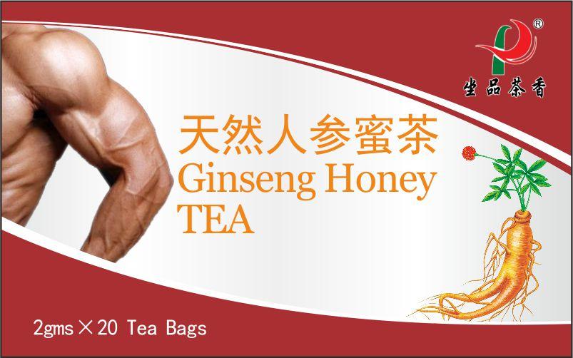 Chinese Herbal Ginseng Honey Tea bag
