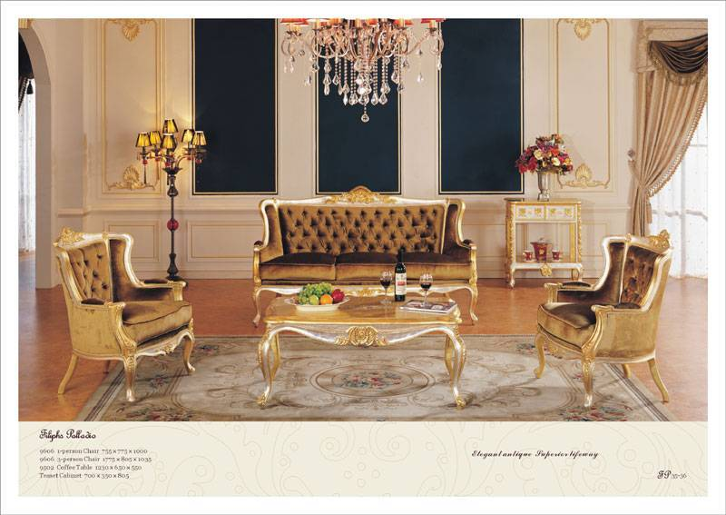 Luxury French Living Room Furniture