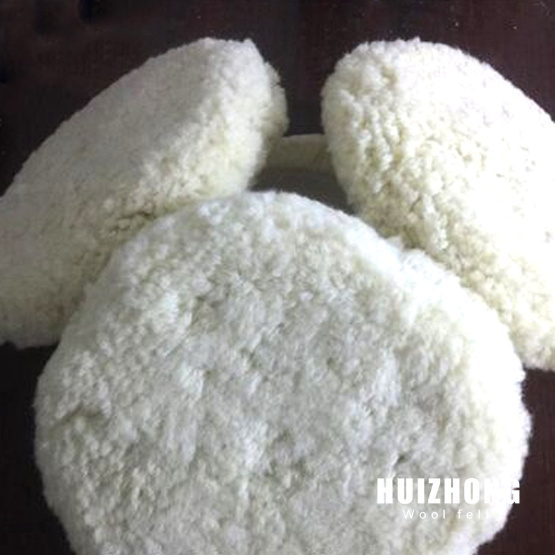 100% wool pads for polishing