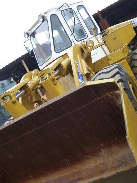 Used Kawasaki kld85z wheel loader