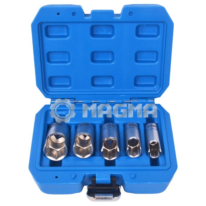 "5 PCS 3/8"" Elbow Connector Socket Set (MG50498)"
