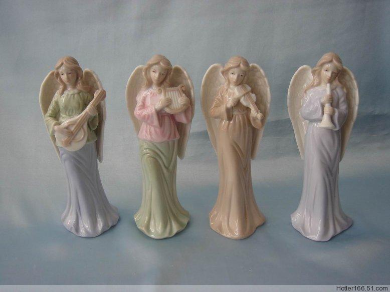 Ceramic angel figurines, nativity sets, figurines, christmas decoration,giftware,souvenirs