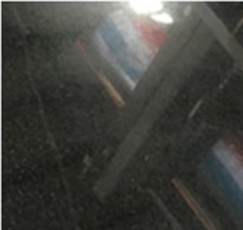 Best selling dyed black board granite with cheap price