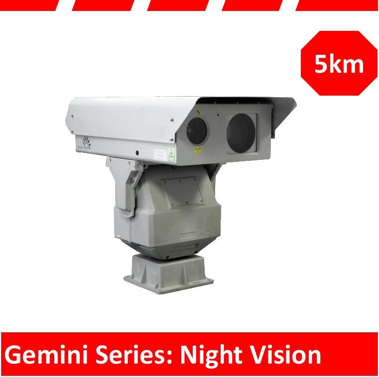 500m-3km Laser Night Vision Camera PTZ Camera