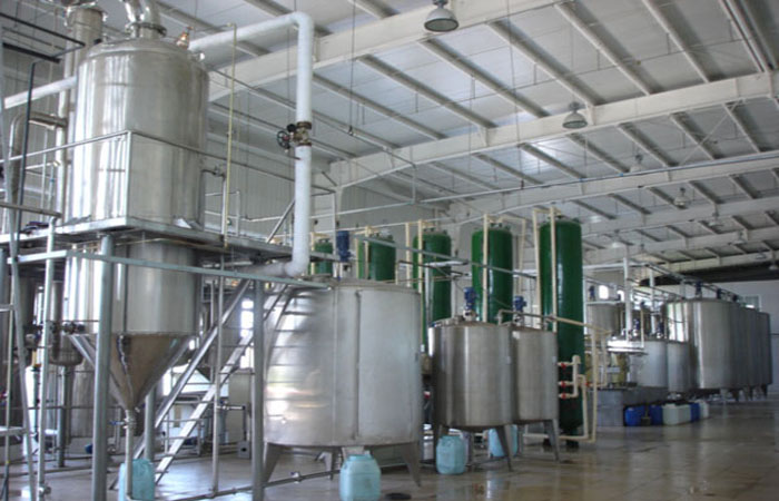 Corn glucose syrup production equipment
