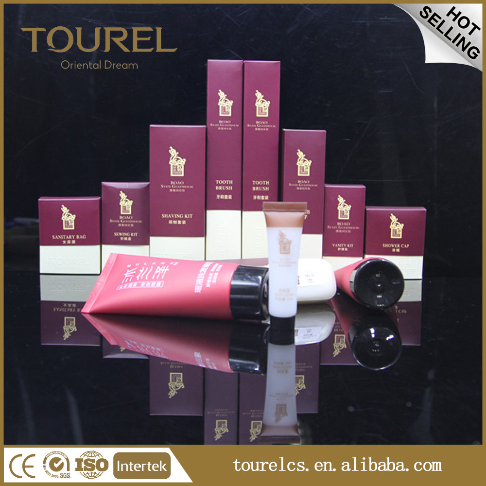 High-end Disposable items national Hotel Amenity/hotel Supplies/amenity Set