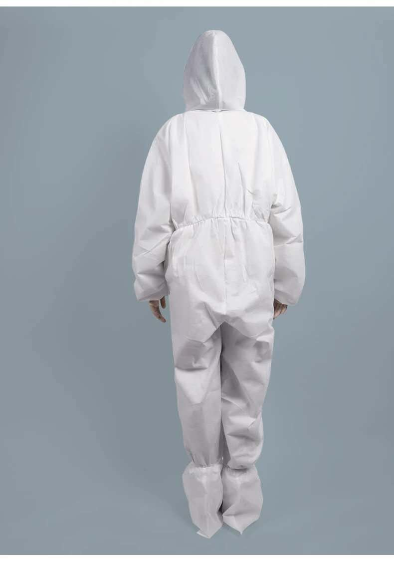Sterile protective isolation suit